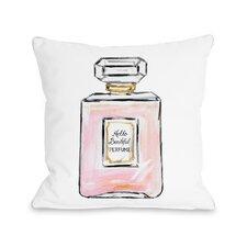 Hello Beautiful Perfume Multiple Throw Pillow