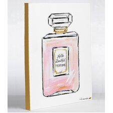 Hello Beautiful Perfume by Timree Graphic Art on Wrapped Canvas
