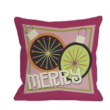 Merry Bright Throw Pillow