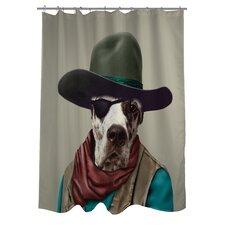 Pets Rock Cowboy Shower Curtain