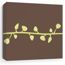 Nourish Sprout Stretched Graphic Art on Wrapped Canvas