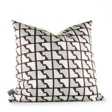 Estrella Houndstooth Throw Pillow