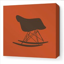 Modern Classics 1948 Stretched Graphic Art on Wrapped Canvas in Rust