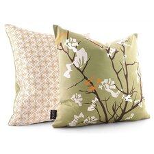 Rhythm Ailanthus Suede Throw Pillow
