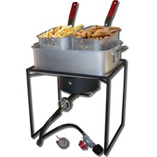Rectangular Welded Fish Fryer