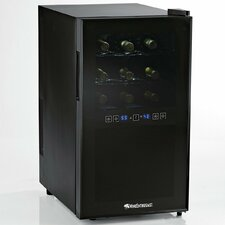 Silent 18 Bottle Dual Zone Freestanding Wine Refrigerator