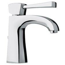 J11 Bath Series Single Lever Handle Bathroom Faucet with Arched Spout