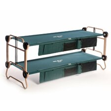 Cam-O-Bunk Bed with 2 Organizer
