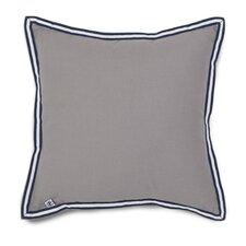 Oxford Plaid Grosgrain Throw Pillow