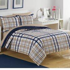Preppy Plaid Comforter Set