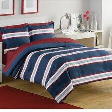 Rugby Stripe Comforter Set