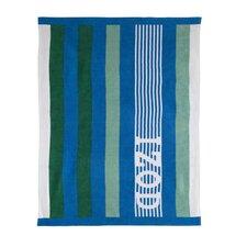 Racing Stripe Beach Towel