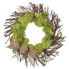 Spring / Everyday Urban Moss Wreath