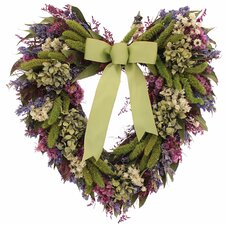 Bliss Garden Heart Wreath