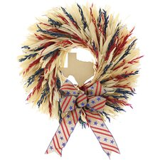"""Home Sweet Home 22"""" Natural Elements Wreath"""