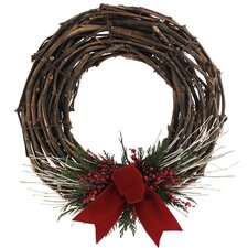 Holiday Cabin Preserved Wreath