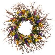 Wild Flower Terrain Wreath