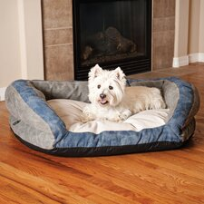 Genuine Logo Bolster Couch Dog Bed