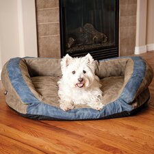 Premium Logo Bolster Dog Bed
