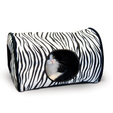 Zebra Kitty Camper