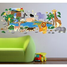 Jungle Plus Wall Decal