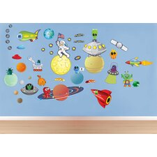 Space/Alien Wall Decal