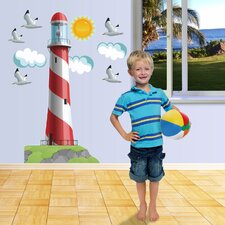Nautical Lighthouse Really Big Wall Decal