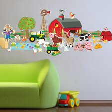 Farm Plus Wall Decal
