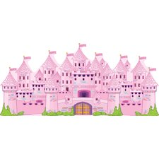 Princess Castle Really Big Wall Decal
