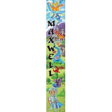 Personalized Knight & Dragon Growth Chart