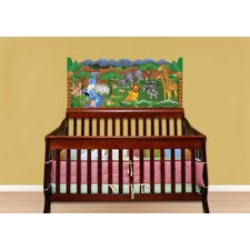 Jungle Baby Crib Wall Mural