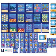 Educational Peel, Play and Learn Numbers Wall Play Set