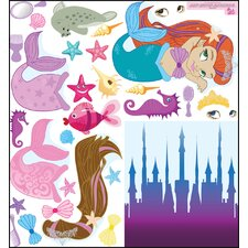 Mermaid Accessory Wall Decal