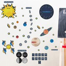 Educational Peel and Learn Solar System Wall Decal