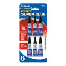 Single Use Super Glue (Pack of 6)