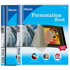 10-Pockets Presentation Book