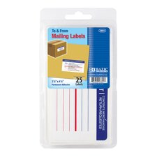 25 Ct. Mailing Labels