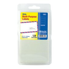 128 Ct. Multipurpose Labels