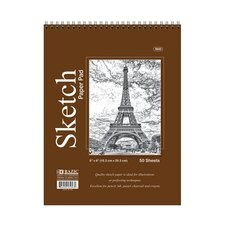 Top Bound Spiral Premium Sketch Pad (Set of 48)