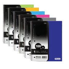 1-Subject Poly Cover Spiral Notebook (Set of 24)