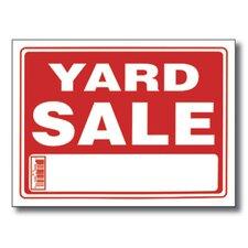 Yard Sale Sign (Set of 24)