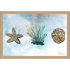 Coastal Coral Doormat