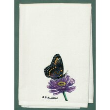 Butterfly Spotted Hand Towel (Set of 2)