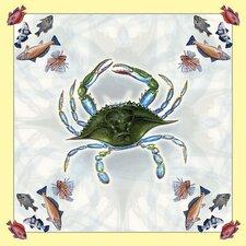 Female Crab Square Tablecloth