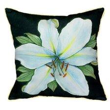Garden Casablanca Lily Indoor/Outdoor Throw Pillow