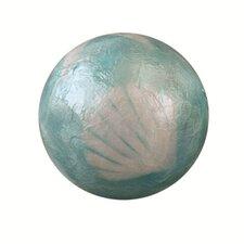 Capiz Seashell Design Ball Sculpture (Set of 2)