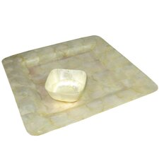 Capiz Square Plate/Tray