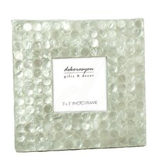 Capiz Picture Frame with Dots