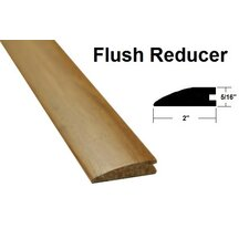 "0.31"" x 2"" x 72.75"" Bamboo Flush Reducer in Reddish Brown"