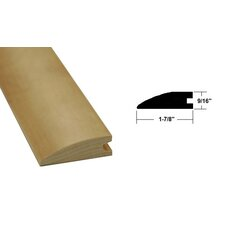 "0.56"" x 1.88"" x 78.75"" Maple Flush Reducer in Light Brown"